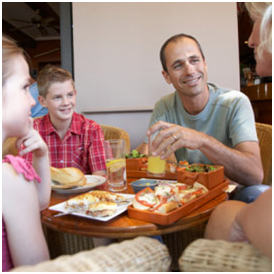Save money on family meals in restaurants